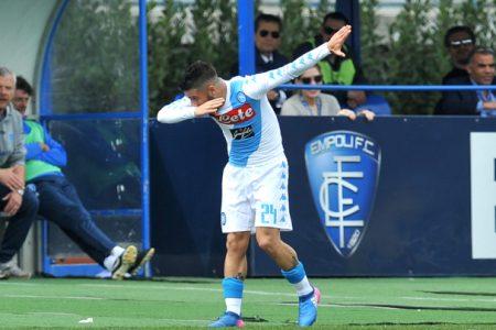 Il Napoli vince sfravecando e senza perdere tempo: Empoli-Napoli 2-3