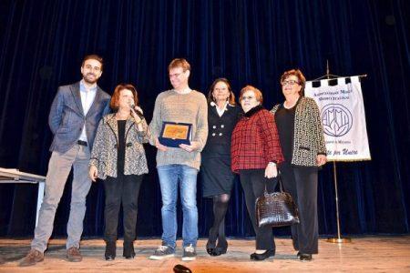 Luigi Dal Cin mattatore di fronte a 900 scolari