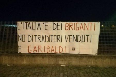Cerignola–Forza Nuova: l'Italia è dei Briganti e non dei venduti a Garibaldi!
