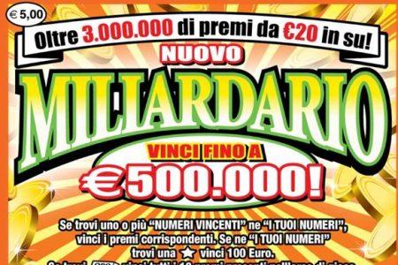 Bari, compra biglietto da 5 euro e vince una fortuna