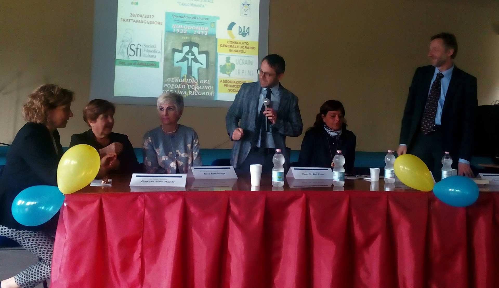 Frattamaggiore – Al Liceo Miranda un convegno per ricordare l'Holodomor