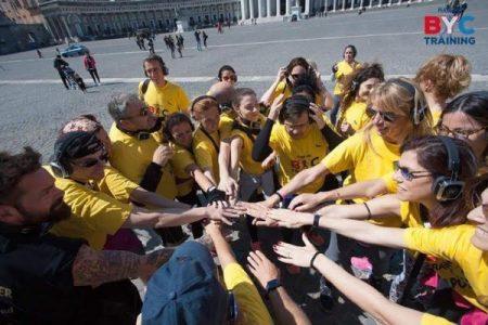 Plank-On, allenamento in piazza e contributi a Scampia