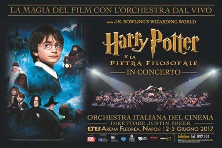 Harry Potter e la pietra filosofale in concerto a Napoli