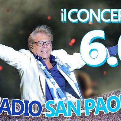 Nino D'angelo allo stadio San Paolo il concerto 6.0