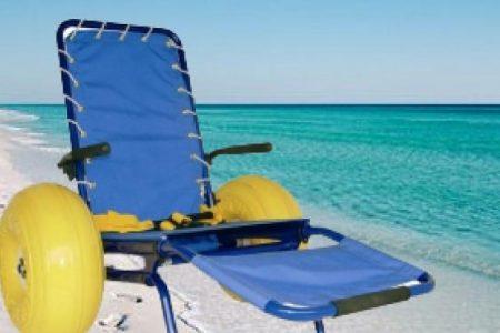 Spiagge accessibili a Lecce, ecco le sedie Jobs