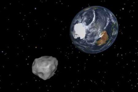 Un'asteroide nell'atmosfera terrestre, torna la paura