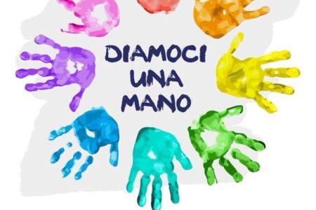 """Sabato 18 Novembre tutti a Piano di Sorrento: """"Diamoci una Mano"""", lasciamo un'impronta colorata"""