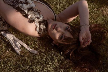 Il fascino trasparente della modella Giovanna