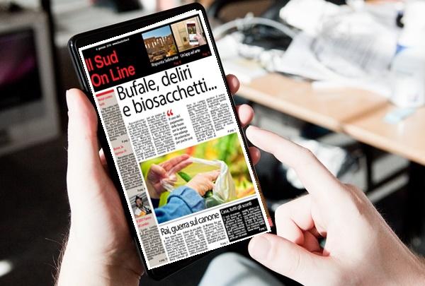 SudOnLine – Il settimanale del Sud – 8 Gennaio 2018 – Gratis per i nostri lettori