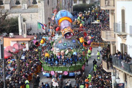 Putignano, il carnevale più lungo e antico d'Europa