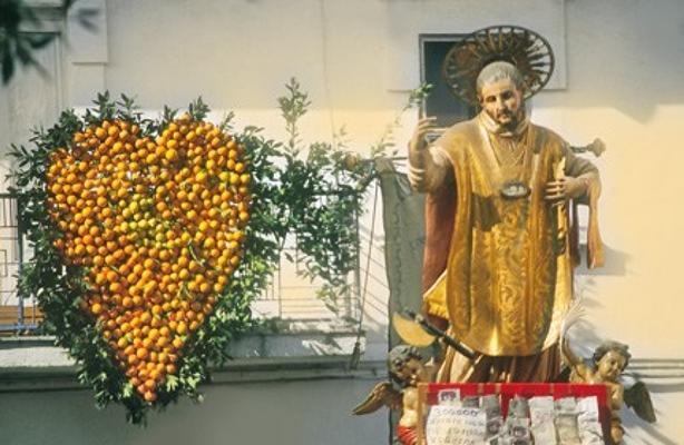 In Puglia San Valentino si veste d'arancio