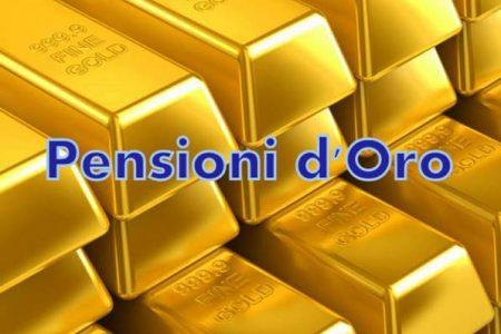 Tagli alle pensioni d'oro, ecco chi rischia
