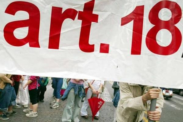 In cento aziende italiane è tornato l'articolo 18