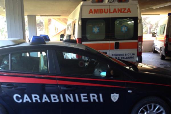 Tenta di fermare un uomo mentre rubava un furgone, ferito un carabiniere