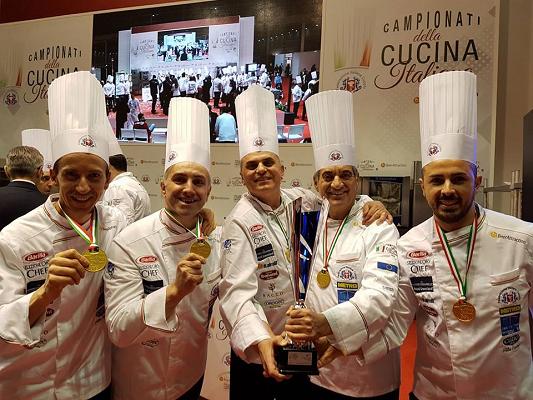 La Basilicata trionfa ai campionati della cucina italiana