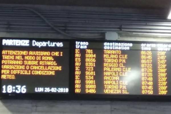 Treni, l'Italia spaccata in due: il rapporto-choc di Pendolaria