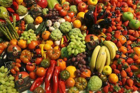 Mai così tanta frutta e verdura sulle nostre tavole