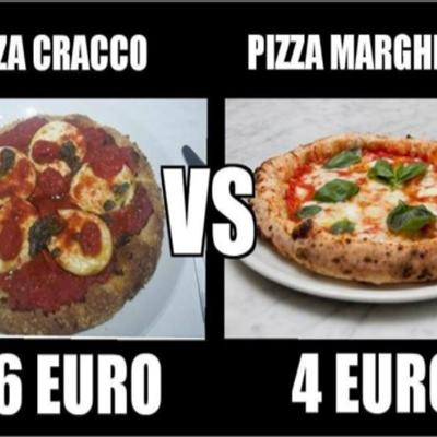 Cracco in Galleria serve una pizza margherita a 16 euro