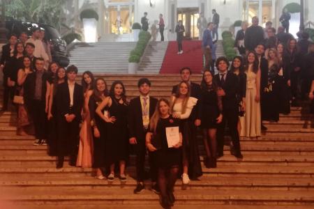 """""""Le antigoni"""" in chiave nazista a Sanremo: il Liceo Durante di Frattamaggiore vince la XX edizione del GEF"""