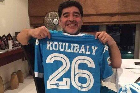 """Anche Maradona esulta: """"Grazie Koulibaly"""""""