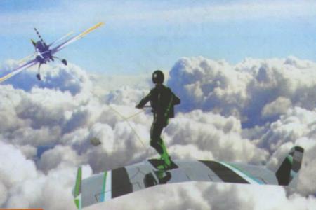 Ecco la tavola per fare surf fra le nuvole