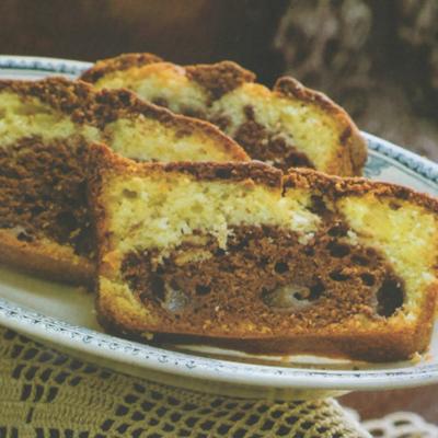 RICETTE DI PRIMAVERA. Il cake variegato con le pere