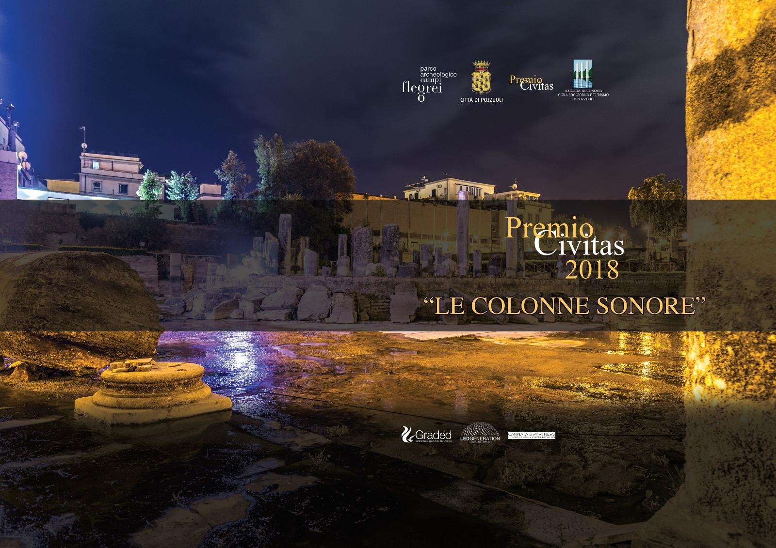 """Il tempio di Serapide torna alla """"luce"""": un concerto per inaugurare il progetto Premio Civitas-Graded"""