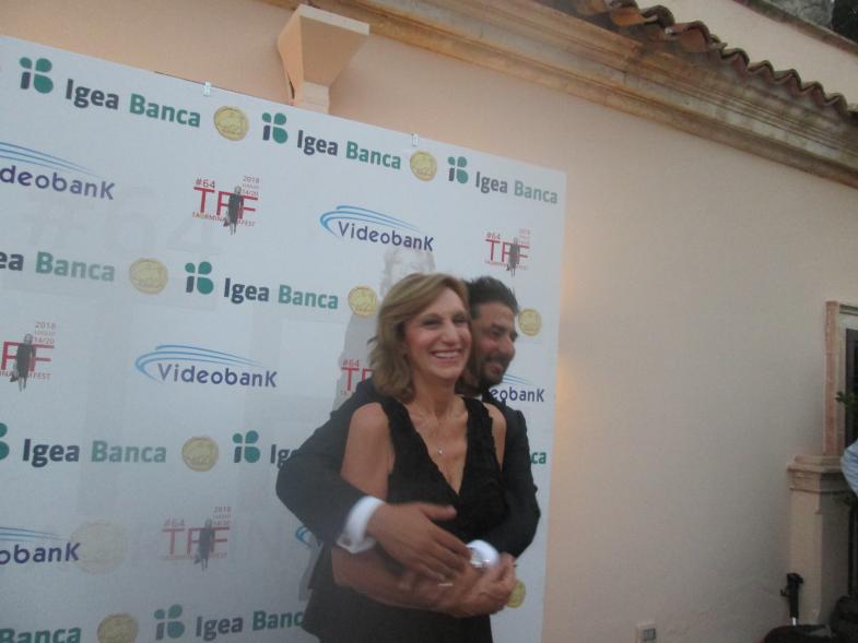 Taormina Film Fest 2018, Bizio e Casadonte fanno goal