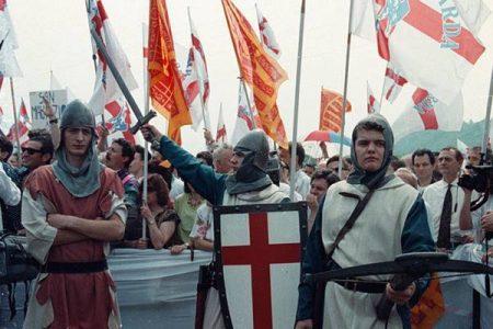 La Lega invade Pontida, per la prima volta anche i meridionali
