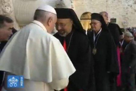 Papa Francesco a Bari per il vertice con i Patriarchi