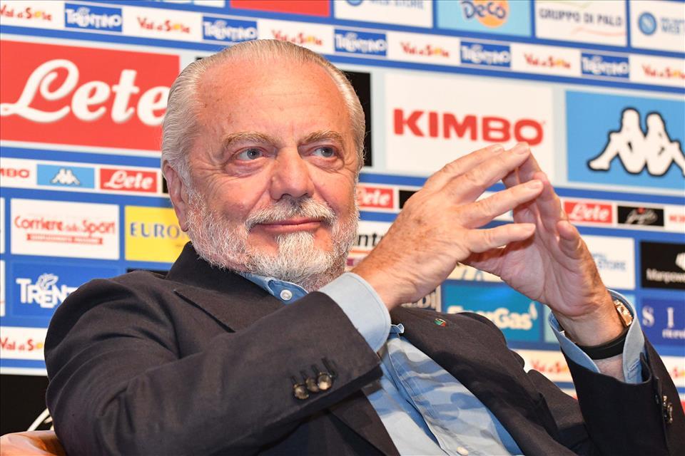 """De Laurentiis è ottimista: """"Lo scudetto al Napoli? Tutto è possibile…"""""""