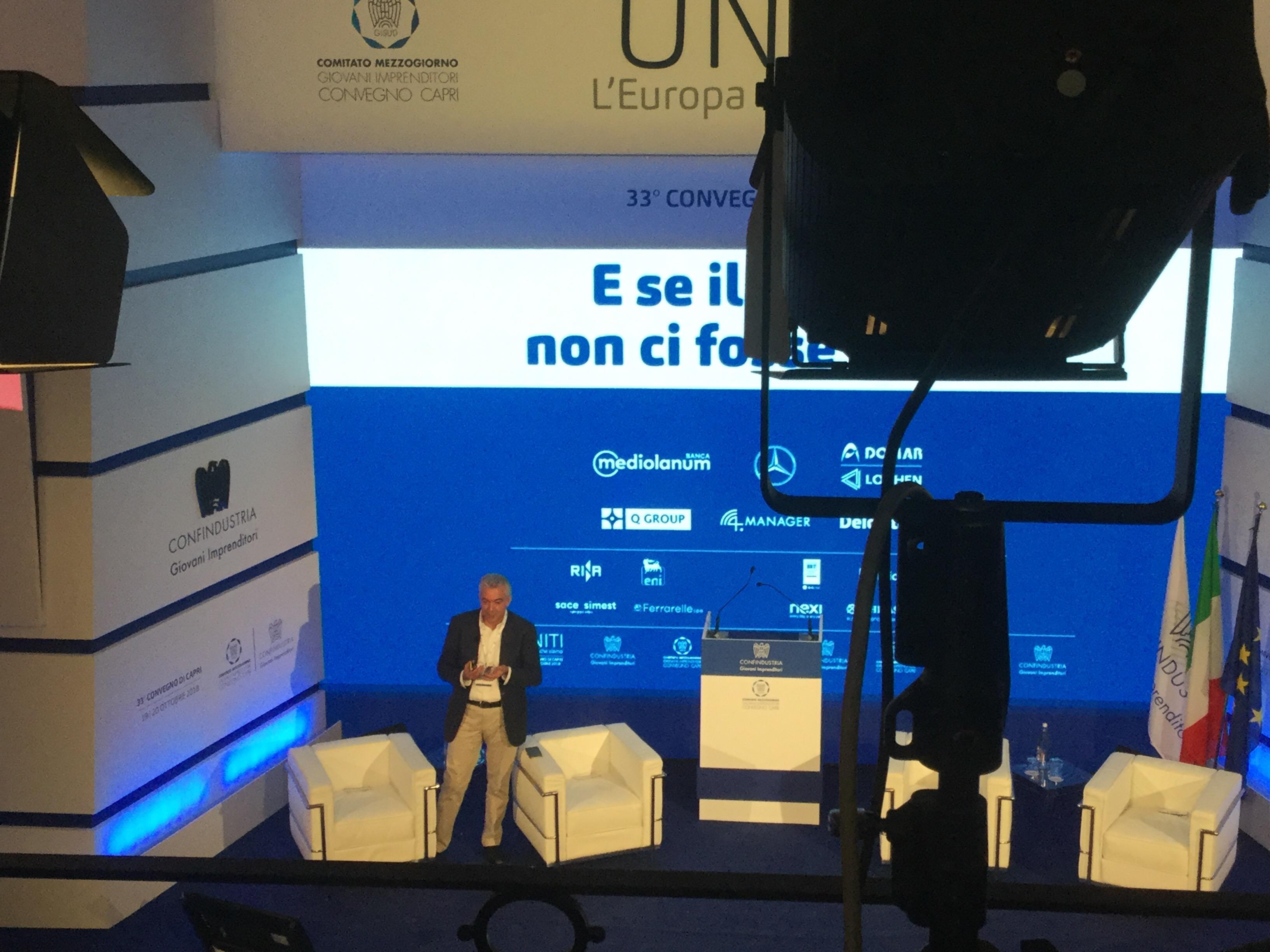 """I Giovani di Confindustria a Capri: """"La manovra ci ruba il futuro"""""""