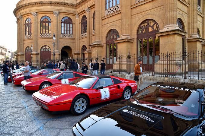 Al via Targa Florio Classica, la corsa d'auto più antica del mondo