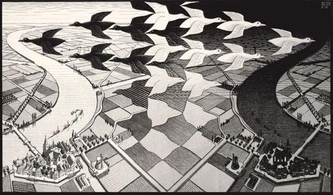 A Napoli la grande mostra dedicata a Escher: la fotogallery dei quadri