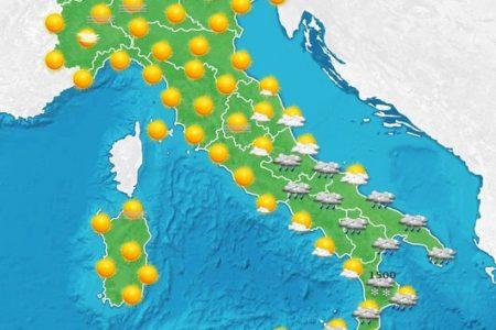 Che tempo che fa nel Sud: temporali in Sicilia