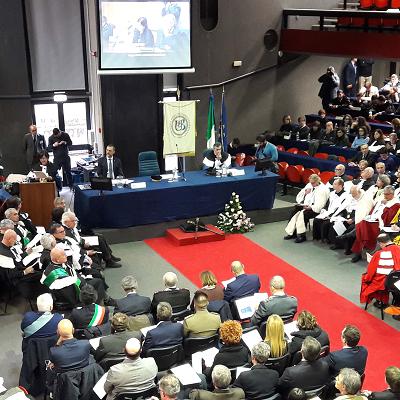 Unibas: a Potenza inaugurato 36/o anno accademico