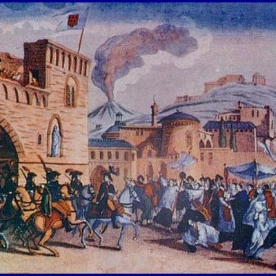 Accadde oggi nel Sud, 23 novembre 1798: l'esercito di Ferdinando IV invade la Repubblica Romana