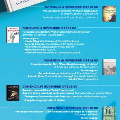 """Brindisi Montagna, al via """"Un Castello di libri"""""""