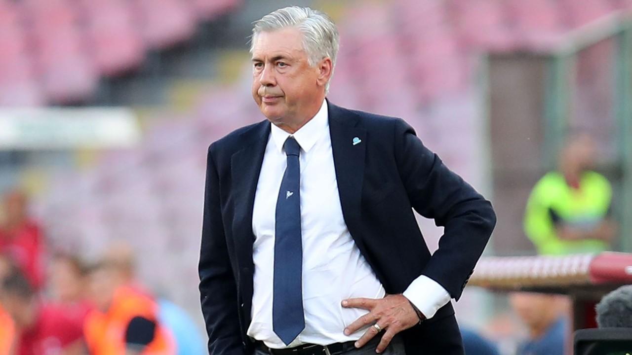 Stasera Napoli-Lazio, tante assenze accellenti: Ancelotti costretto al turn over