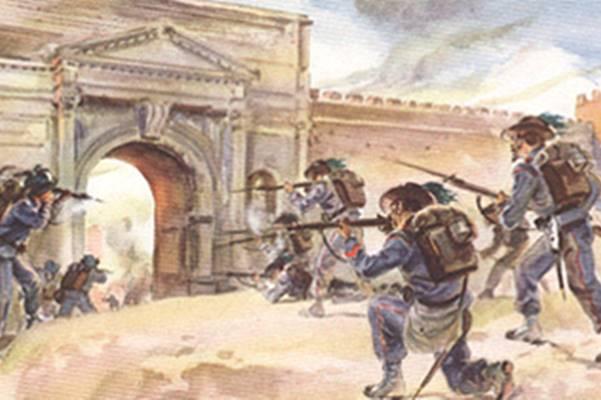 La Lettura. L'ultima battaglia per la conquista della Roma del Papa Re
