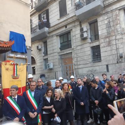 NAPOLI / IL COMUNE INTITOLA UNA STRADA a Simonetta Lamberti, vittima innocente della camorra