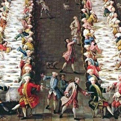 A Tavola con i Borbone /5 I ricevimenti a Corte, la festa di mezzanotte con i maccheroni del Re