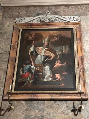 """Opera tua, Restaurato e riconsegnato il dipinto """"San Nicola con Adeodato e i tre fanciulli"""""""