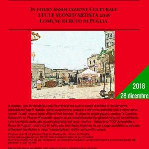 Ruvo di Puglia, passeggiata e tombola letteraria