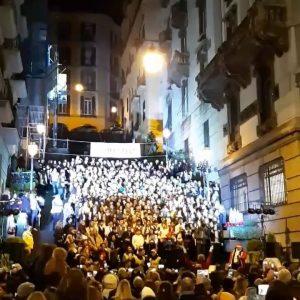 Un incredibile concerto nel cuore di Napoli. Un video incredibile…