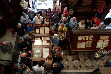 """""""Storie di famiglie, storie di libri"""" alla Biblioteca Nazionale di Napoli"""