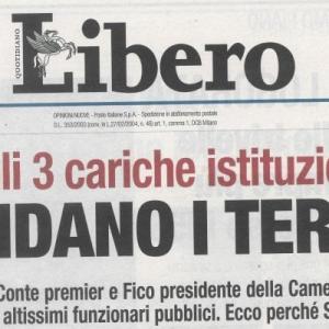 """Il sindaco di Palermo contro il titolo """"razzista"""" di Libero"""