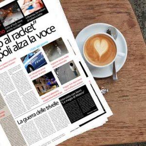SudOnLine quotidiano di giovedì 24 gennaio 2019. Rivolta a Napoli contro il racket – Foggia, finti dipendenti Inps truffavano gli anziani – Guerra fra Lega e Cinquestelle sulle trivelle nell'adriatico