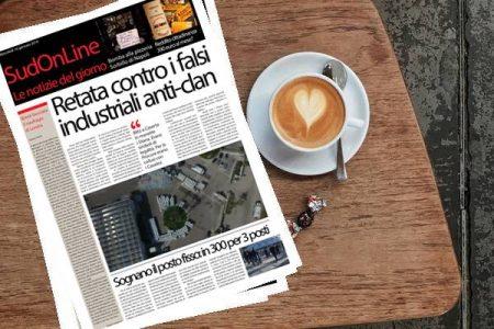 SudOnLine quotidiano di Mercoledì 16 gennaio. Bomba alla pizzeria Sorbillo – blitz contro i falsi imprenditori anti-clan – Quanto vale il reddito di cittadinanza