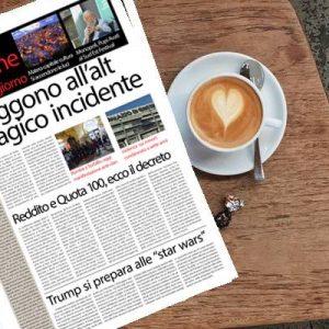 SudOnLine quotidiano di venerdì 18 gennaio: tragico inseguimento sulla Telesina, 4 morti – Matera capitale della cultura, domani si parte – Bomba alla Pizzeria Sorbillo, in piazza contro i clan